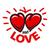 kırmızı · çerçeve · kalpler · aziz - stok fotoğraf © butenkow