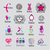 collection of vector logos fashion accessories and clothing stock photo © butenkow