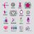 toplama · vektör · logolar · moda · saç - stok fotoğraf © butenkow