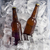 garrafa · cerveja · gelo · isolado · branco · bar - foto stock © butenkow