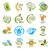 современных · вектора · набор · здорового · Экологически · чистые · продукты · питания · Этикетки - Сток-фото © butenkow