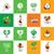 zöldségek · lábas · logo · vegetáriánus · menü · hasznos - stock fotó © butenkow