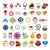 коллекция · вектора · Логотипы · рынке · дизайна · технологий - Сток-фото © butenkow