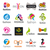 biggest collection of vector logos fashion stock photo © butenkow