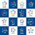 коллекция · вектора · Логотипы · интернет · сеть · компьютер - Сток-фото © butenkow