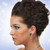 femeie · frumoasa · safir · colier · modă · elegant · la · moda - imagine de stoc © bvdc