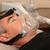 férfi · alszik · gép · fiatalember · ágy · orvosi - stock fotó © bvdc