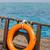 csatolva · csónak · közelkép · égbolt · háttér · nyár - stock fotó © byrdyak
