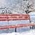 скамейке · зима · парка · снега · дерево · пейзаж - Сток-фото © byrdyak