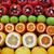 lezzetli · taze · detay · açmak · nar · bütün - stok fotoğraf © byrdyak