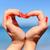 символический · сердце · песок · можете · используемый · морем - Сток-фото © byrdyak