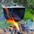 caldeirão · foto · pão · prato · carne - foto stock © byrdyak