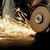 trabalhador · metal · faíscas · trabalhar - foto stock © byrdyak