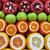 delicioso · frescos · detalle · abierto · granada · todo - foto stock © byrdyak