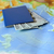 pasaport · para · harita · dünya · şehir - stok fotoğraf © byrdyak