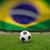 サッカー · サッカーボール · フィールド · スタジアム · ブラジル · フラグ - ストックフォト © byrdyak