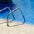 lege · outdoor · zwembad · Blauw · metaal · zilver - stockfoto © byrdyak