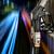 renkli · yakıt · üç · pompa · benzin · istasyonu · mavi - stok fotoğraf © byrdyak