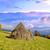 berg · dorp · najaar · landschap · hooiberg · hemel - stockfoto © byrdyak