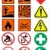 vector set of different international signs laboratory associated stock photo © bytedust
