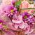 gyönyörű · virágcsokor · rózsaszín · virágok · esküvő · tavasz - stock fotó © c12
