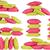 пончик · подушкой · подушка · шаблон · розовый · цвета - Сток-фото © caimacanul