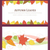 Three Autumn Backgrounds with Hand Drawn Autumn Leaves stock photo © cajoer