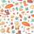 Seamless Pattern with Autumn Related Objects stock photo © cajoer