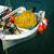 白 · ローイング · ボート · ギリシャ · 水 · 太陽 - ストックフォト © calek