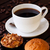 coffee with two muffin on table close up stock photo © calvste