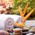 禅 · 石 · スパ · 屋外 · 自然 · オレンジ - ストックフォト © calvste