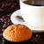 kávé · muffin · asztal · közelkép · étel · reggeli - stock fotó © calvste