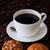kahve · iki · çörek · tablo · ahşap · masa · gıda - stok fotoğraf © calvste