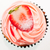 Strawberry cupcake top view  stock photo © calvste
