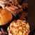 anacardo · tuerca · muffin · especias · desayuno · blanco - foto stock © calvste