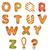 p · betű · mézeskalács · borsmenta · betűtípus · sütik · ábécé - stock fotó © cammep