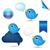 kék · madarak · társasági · hálózat - stock fotó © cammep