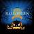 halloween · poszter · ördög · copy · space · szárnyak · denevér - stock fotó © cammep