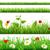 fleurs · herbe · coccinelle · isolé · blanche · résumé - photo stock © cammep