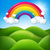 Regenbogen · Sternen · Licht · Sommer · Disco - stock foto © cammep