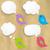 zoals · banner · tekstballon · poster · sticker · meetkundig - stockfoto © cammep