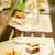 新鮮な · クリーム · ケーキ · デザート · プレート · チョコレートムース - ストックフォト © candyboxphoto