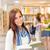 fiatal · középiskola · diák · lányok · olvas · könyvek - stock fotó © candyboxphoto