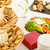 catering buffet served food on banquet table stock photo © candyboxphoto