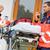 emergency radio call ambulance house door visit stock photo © candyboxphoto