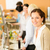 zakenvrouw · cafetaria · lunch · glimlachend · dienst - stockfoto © candyboxphoto