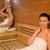 dwie · kobiety · sauna · ręcznik · dwa · młodych · spocony - zdjęcia stock © candyboxphoto