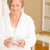 senior woman bathroom apply cream cotton pad stock photo © candyboxphoto
