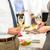 İş · ortaklarımız · tost · şampanya · şirket · olay · kutlama - stok fotoğraf © candyboxphoto