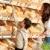 élelmiszerbolt · vásárlás · nő · gyermek · választ · kenyér - stock fotó © CandyboxPhoto